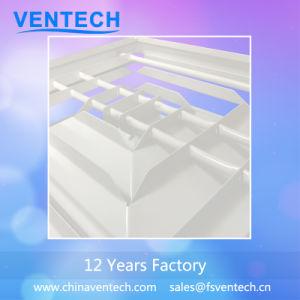 China-Lieferanten-Aluminiumdecken-Quadrat-Luft HVAC-Diffuser (Zerstäuber)