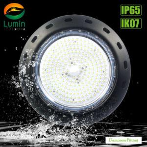 Hohes Bucht-Licht 100W des UFO-Wasser-Beweis-LED für Lager-Beleuchtung