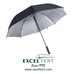 배출되는 반대로 UV 겹켜 닫집 광고 골프 우산 (TKET-1021)