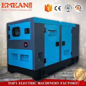 経済力AC 1/3phases Cannopy 12kw 15kVA無声ディーゼル発電機Genset