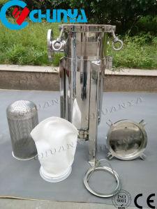 Sac en acier inoxydable à entrée latérale du boîtier de filtre pour l'industrie