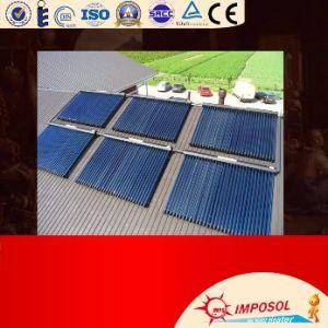 ヒートパイプの太陽給湯装置のコレクターの構築