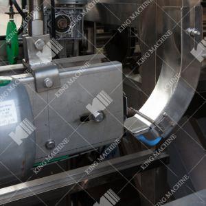 A linha de produção de enchimento de recipientes de plástico para Grau Alimentício 5 Galão