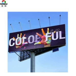 Publicité de plein air pleine couleur P6 de l'écran d'affichage numérique à LED