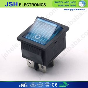 CQC/UL/ENEC Energía Eléctrica de 16 A 250 VCA T125 enciende el interruptor basculante