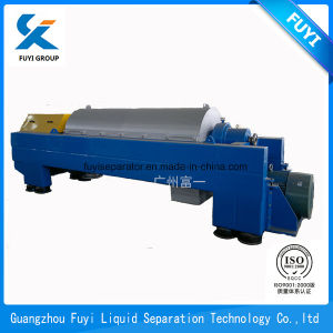 Nuova centrifuga del decantatore della strumentazione di disegno della fabbrica