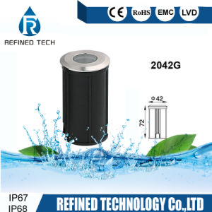 IP68 mini tipo indicatore luminoso subacqueo della piscina dell'indicatore luminoso del punto del LED