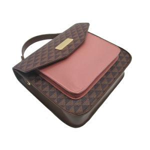 2018 Nouvelle arrivée Femme Sac fourre-tout Fashion PU Handbag célèbre marque Lady Totebag Couleur de contraste