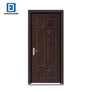 Portello di legno del MDF dell'entrata principale dei comitati di Fangda 6