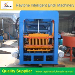 かみ合う空の固体のための機械を作るQt6-15煉瓦ブロック煉瓦を舗装する