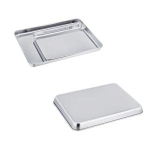 Aleación de aluminio duradero Die-Casting Plaza de alta calidad de la bandeja de torta de molde para hornear