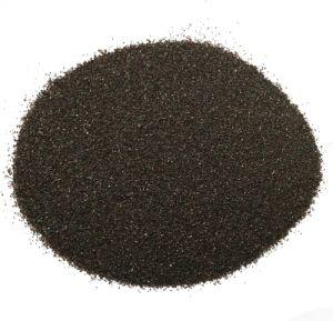 Proveedor fiable de la superficie de limpieza criogénica de microesferas de vidrio de 80 granos de arena arena granate para la venta