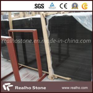 Noir impérial chinois sandale Bois/Bois noir en marbre de grain