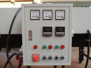 ND5565 5.5m automatisches IR Shirt-Förderanlagen-Tunnel-Trockner-Maschinen-Bildschirm-Drucken-trocknende Maschine