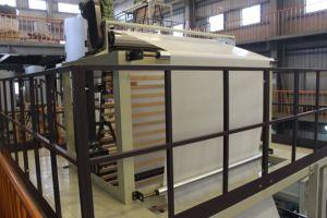 マットレスのカバーのための安定した出力HDPEのプラスチックフィルム吹く機械