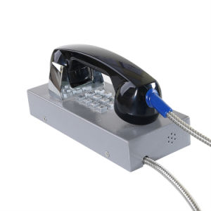Вандалозащищенная телефон Auto-Dial тюрьме телефон VoIP помощь по телефону