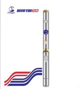 Deviazione standard pompa del mezzo sommergibile del pozzo profondo di irrigazione di agricoltura di 4 pollici
