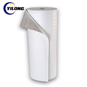 Ignifugé chaleur réfléchissants matériau à isolation thermique avec du papier aluminium