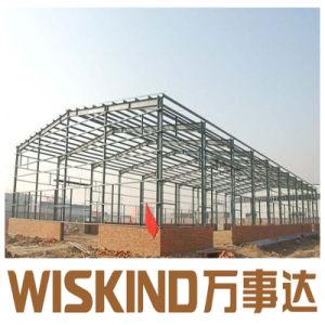 Prefabricados de estructura de acero de alta resistencia para la construcción de taller y almacén