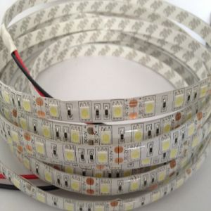 striscia flessibile dell'indicatore luminoso di doppia riga LED di 12V 120LEDs/M Edgelight 5730