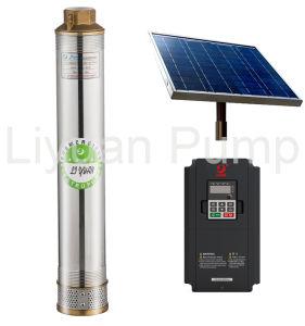pompa ad acqua 1.1kw/1.5HP, pompa solare sommergibile solare del sistema di pompaggio 4inch