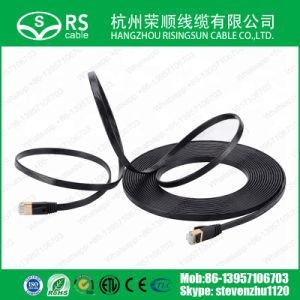 Plano de Ethernet Cat7 Cable de conexión de cable de red.