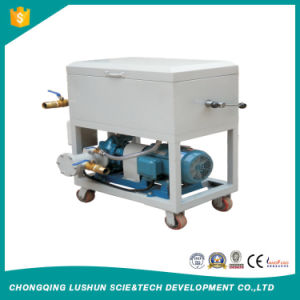 Série LY la plaque et le type de trame de purification de l'huile de la machine