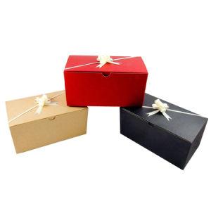 Vakje van uitstekende kwaliteit Van het Bedrijfs document van Keychain van het Muntstuk van de Druk van het Embleem van het Karton van de Oorringen van de Halsband van de Juwelen van het Ontwerp van de Douane het Vouwbare Verpakkende van de Gift voor Herinnering