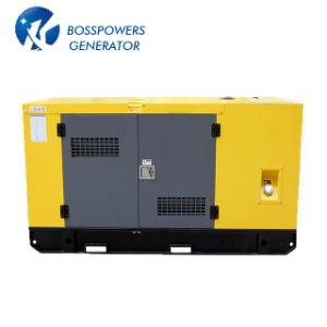 Lovol Dieselの発電機セットのディーゼルGensetの交流発電機によって動力を与えられる50Hz 112kw 140kVAのWater-Coolingの無声防音のおおい