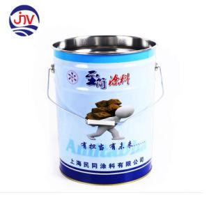 El tambor de metal balde adhesivo disolvente Lata de aceite del motor de latas