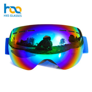 0c594c8bb2889 2018 Lentes de óculos de esqui personalizados tira elástica coloridos  nevando óculos de sol