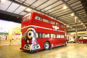 2018 het Nieuwe Ontworpen Dubbele Dek van de Bus van het Voedsel met Uitstekende kwaliteit