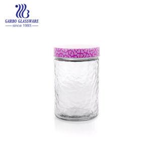 [1200مل] مرطبان كبيرة زخرفيّة سدود زجاجيّة ([غب21011200بل])