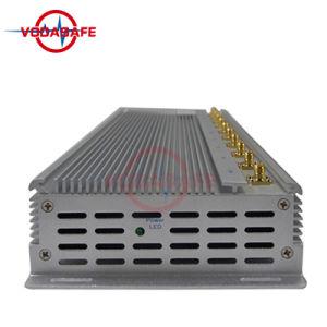 Quarto Socador estacionária Jammer/Bloqueador para um telemóvel /Wi-Fi/ UHF/VHF, Walkie-Talkie melhor telefone celular portátil Jammer