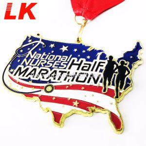 中国の製造者の安いカスタムアメリカ人はメダルを遊ばす