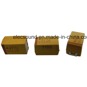 Танталовые конденсаторы для поверхностного монтажа свинца CA45/Ca45L желтый цвет