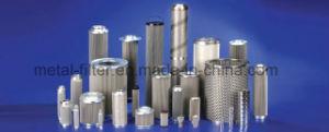 Het Gesinterde Element op hoge temperatuur van de Filter van het Netwerk van het Roestvrij staal