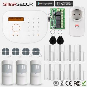 Contrôle de l'APP Multi-Langauge RFID sans fil GSM Système d'alarme de sécurité à domicile