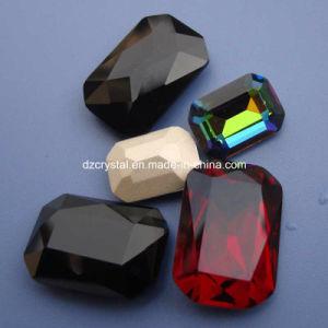 Toebehoren van het Bergkristal van het Kristal van het punt de Achter Glanzende voor Juwelen