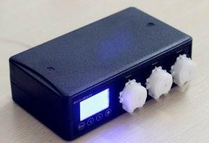 Bomba dosificadora origen Azul 01 puertos de extensión con dosificador de maestro de la bomba de tubo de bomba de la manguera para acuarios Inicio Laboratorio de organismos marinos.