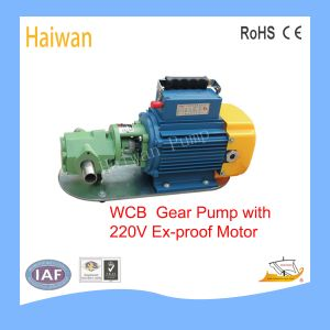 Bewegliche Fahrwerk-Schmieröl-Pumpen-Schmieröl-Übergangspumpe Wcb-75)