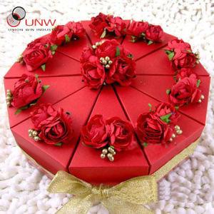 De Dozen van de Cake van de Gift van het huwelijk (unw-l-52)