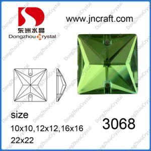 Naai op de Steen van het Kristal de Vierkante Fabriek op Bergkristal naait