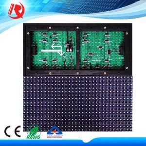 Светодиодная панель используется P10 синий цвет Водонепроницаемый светодиодный экран модуля