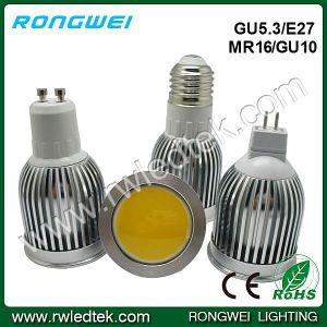 COB 560lm 12VDC/85-265VAC 5W MR16 LED Lights