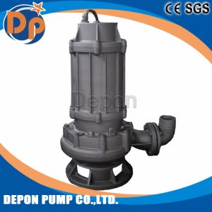 Cromo de alta centrífuga vertical de la bomba eléctrica sumergible de aguas residuales