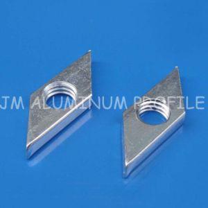 Rhombus écrous pour profilé en aluminium