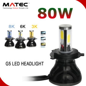 G5 4000LM LED Car Kit de faros H7 H11 5202 9005 9006 H13 9004 9007 faros H4