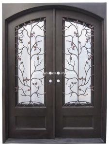 [هند-فورجد] منخفضة [ورووغت يرون] أمن أبواب مع مزدوجة لوح زجاج