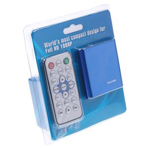 Aluguer de mini-Full HD de 1080p com leitor de mídia SD/MMC/Função de reprodução automática de Host USB /RM/MKV Mini1080p